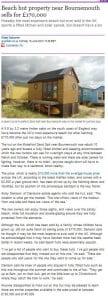 £170k Beach Hut