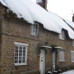 Front of the Cottage in Winter