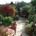 The Secluded Garden From the Cottage