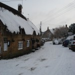 The Masons Arms in snow